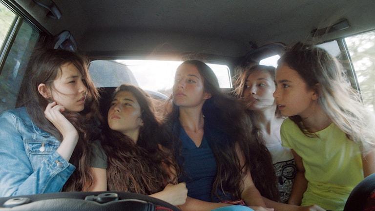 Fem systrar på väg i Mustang av Deniz Gamze Ergüven