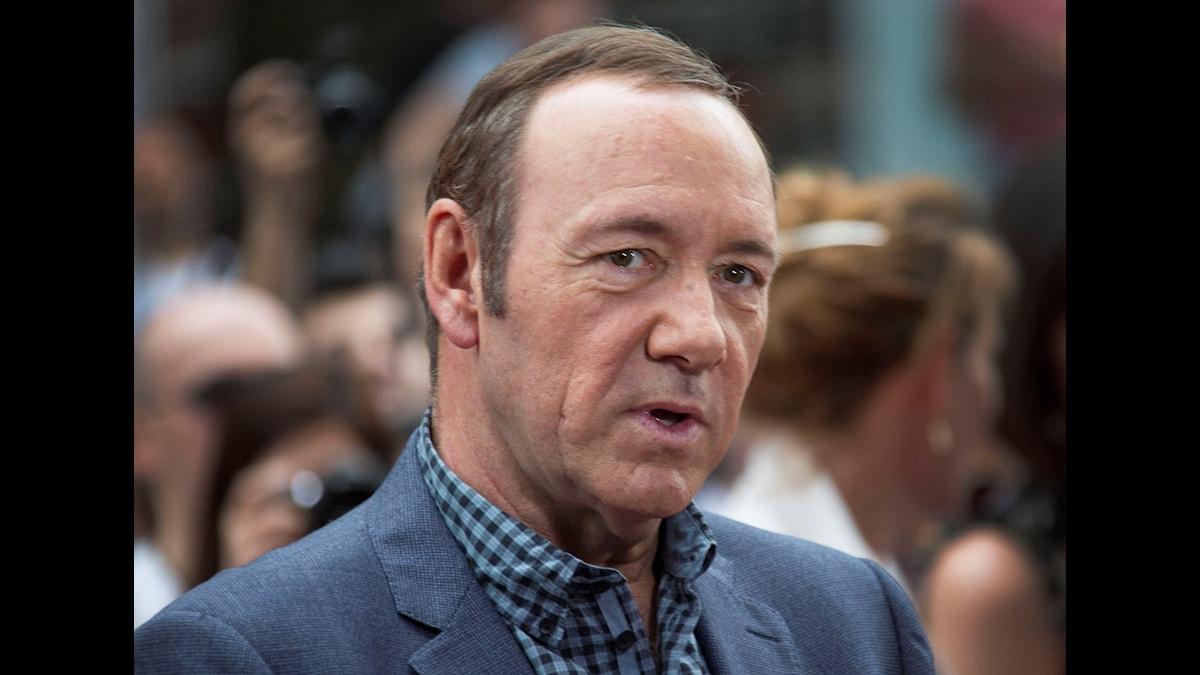 "Kevin Spacey spelar den maktlystne presidentkandidaten Frank Underwood i tv-serien ""House of Cards""."