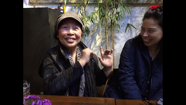 Den vietnamesiska författarinnan Le Minh Khue