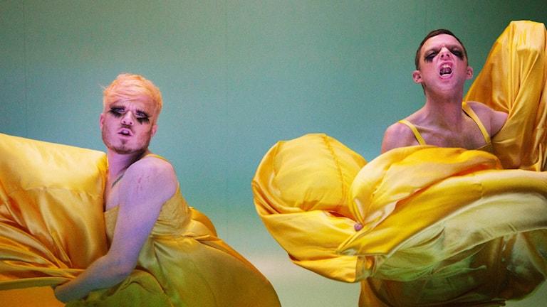 Marcus Baldemar och Mattias Brunn. Fotograf: Märta Thisner.