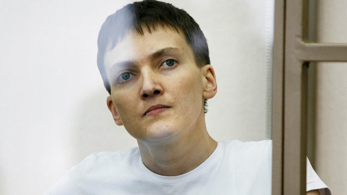 Nadezjda Savtjenko. Foto: AP.