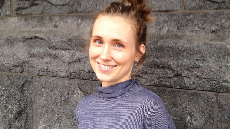 Nanna Salemark på förlaget Genusredaktörerna.