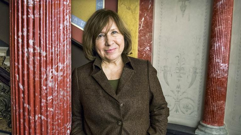 Nobelpristagaren Svetlana Aleksijevitji har varit fristadsförfattare i Göteborg.