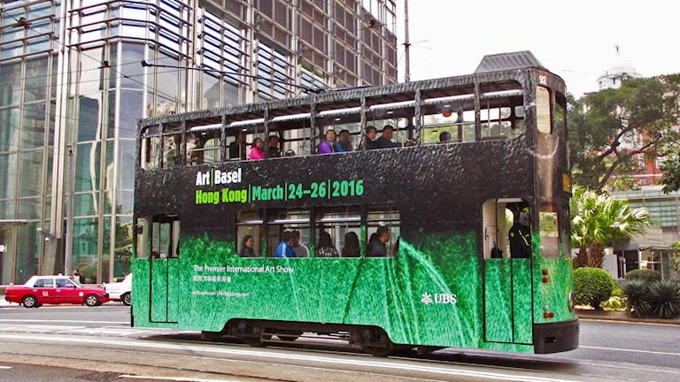 Art Basel pågår i Hongkong. Foto: Art Basel.