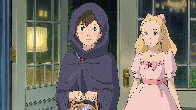 Den ensamma Anna möter en själsfrände i Marnie i Studio Ghiblis nya film.