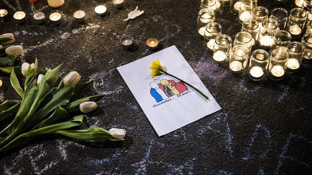 Efter terrordådet i Bryssel.