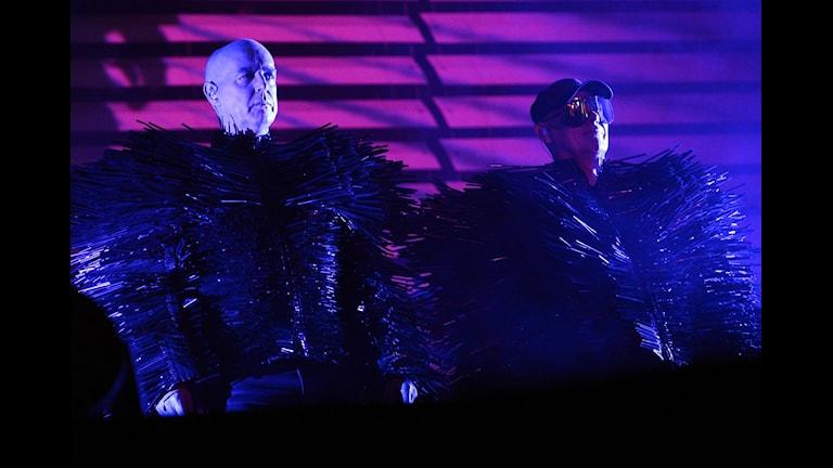"""Neil Tennant och Chris Lowe i Pet Shop Boys är aktuella med skivan """"Super""""."""
