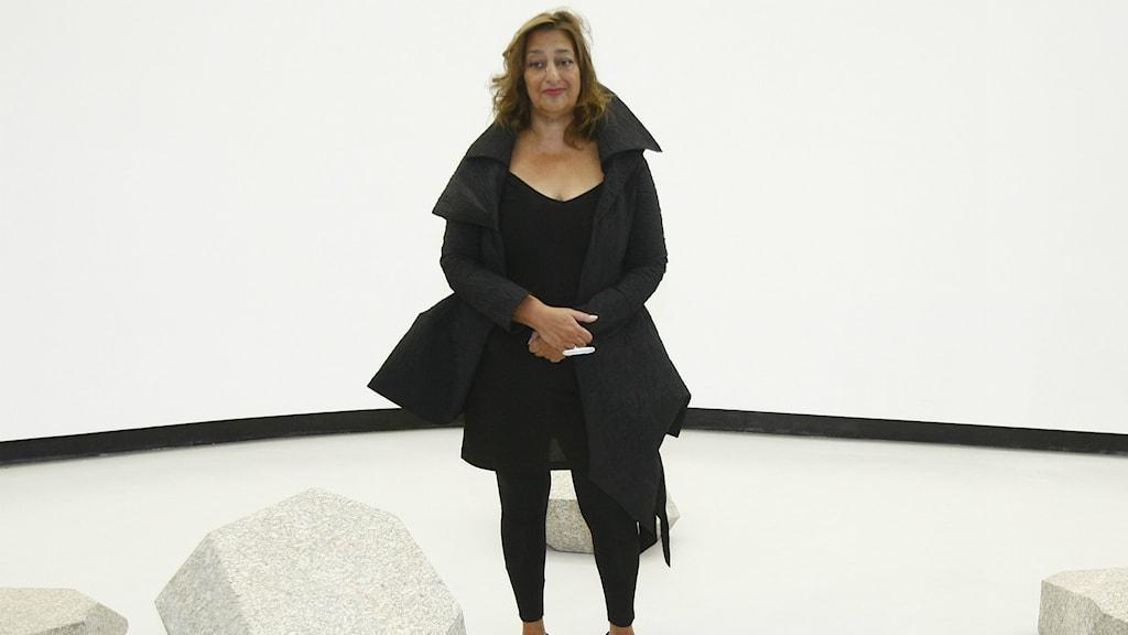 Arkitekten Zaha Hadid har bland annat ritat konstmuseet Maxxi i Rom.