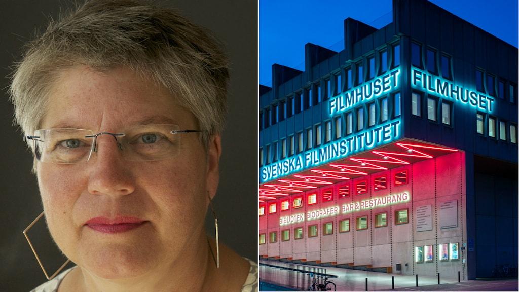 Susann Jonsson, VD Filmpool Nord, tycker att Filminstitutet borde flytta till exempelvis Trollhättan.