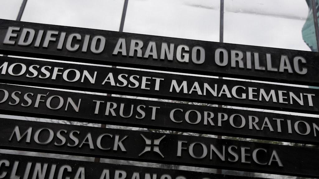 Mossack Fonseca.