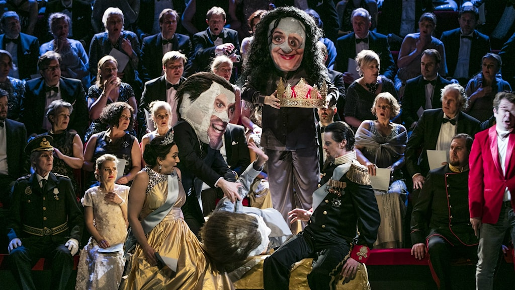 Ambroise Thomas version av Hamlet spelas för första gången i Sverige. Foto: Mats Bäcker