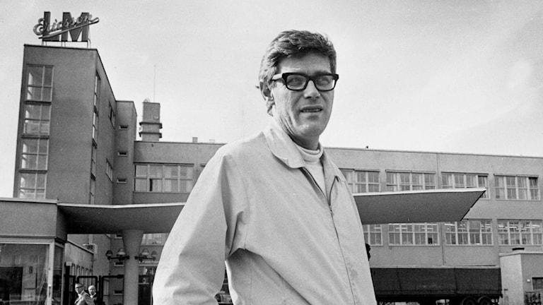 Göran Palm 1971. Foto: Pressens bild