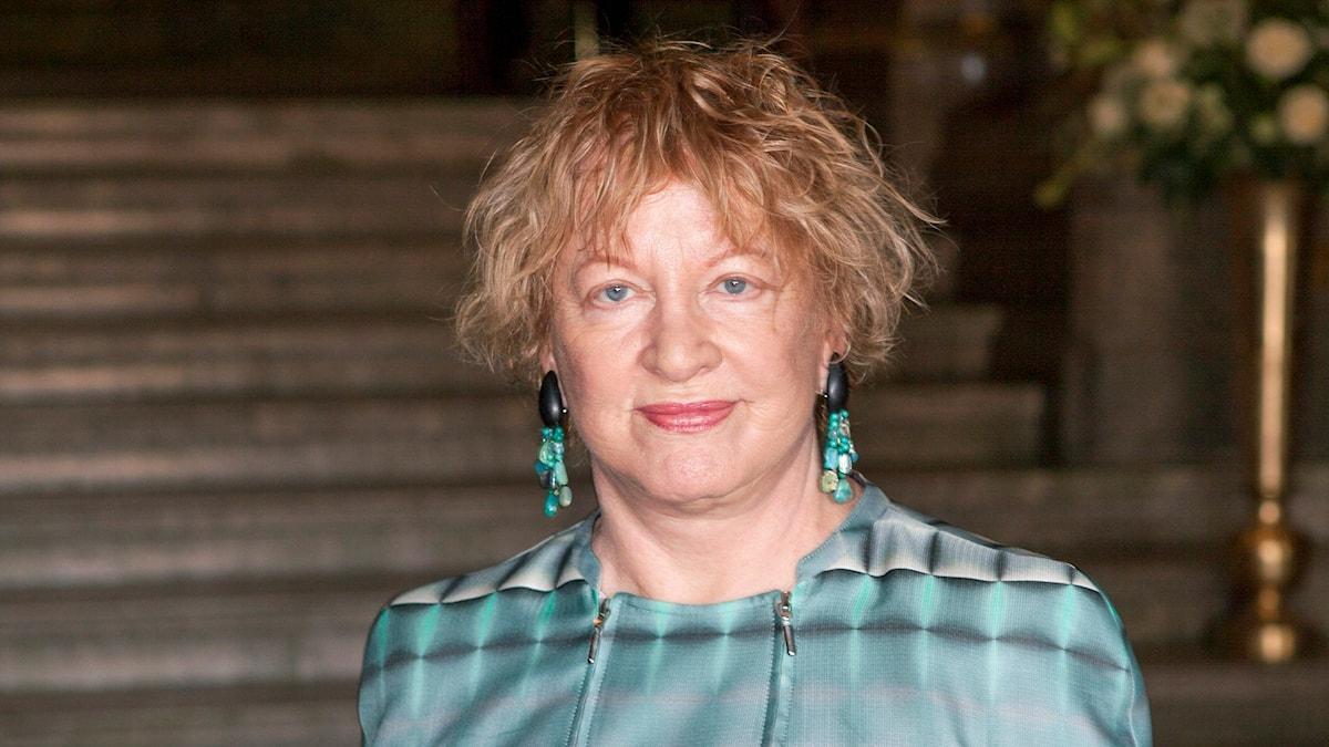 Jeanette Bonnier i samband med en teaterpremiär 2014.