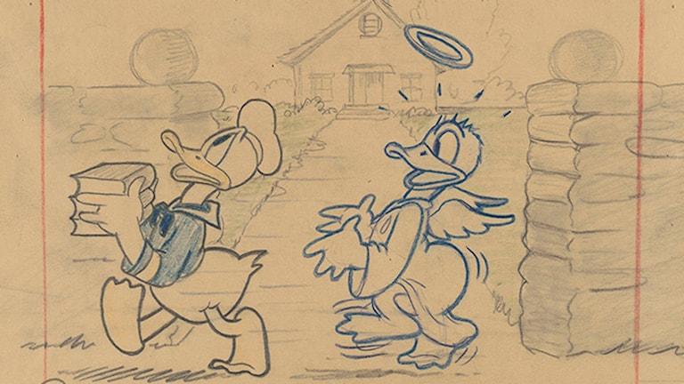 Kalles bättre jag/Donalds better self (1938)