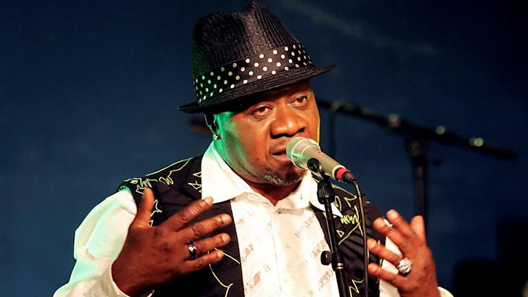 Papa Wemba var en av den afrikanska kontinentens mest populära artister.