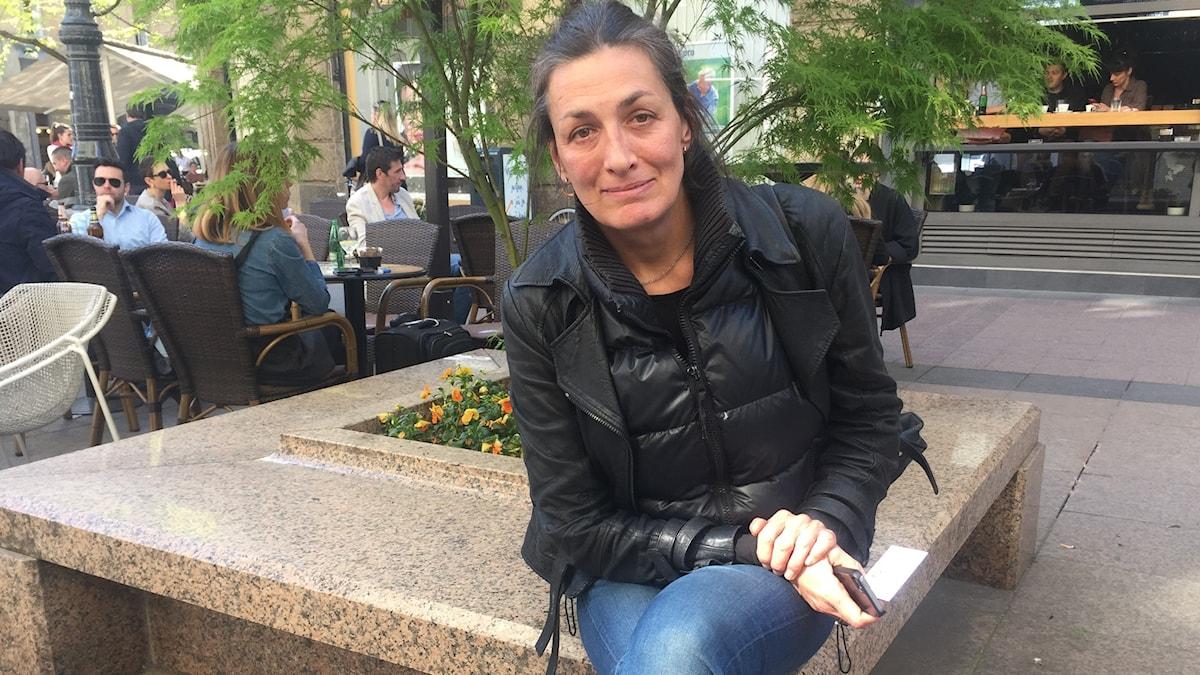 Den kroatiska skådespelerskan Ursa Raukar tillhör den grupp kulturarbetare som protesterat mot den nya kulturministern.