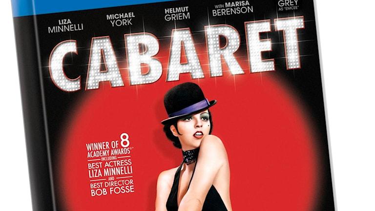 Filmaffischen för Cabaret från 1972, regisserad av Bob Fosse .