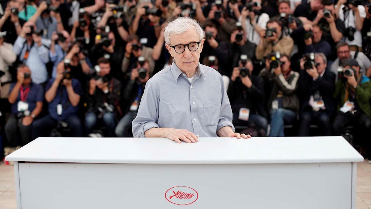 Woody Allen är tillbaka i Cannes. Foto: Thibault Camus