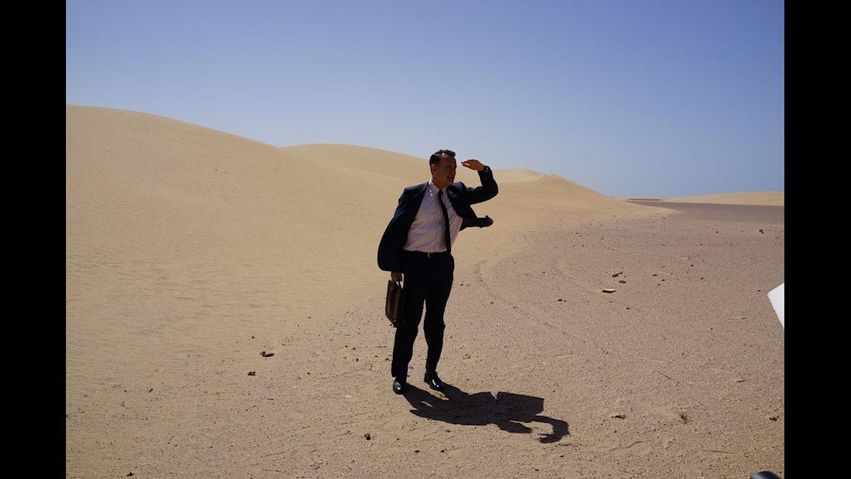 Tom Hanks i Kungens Hologram