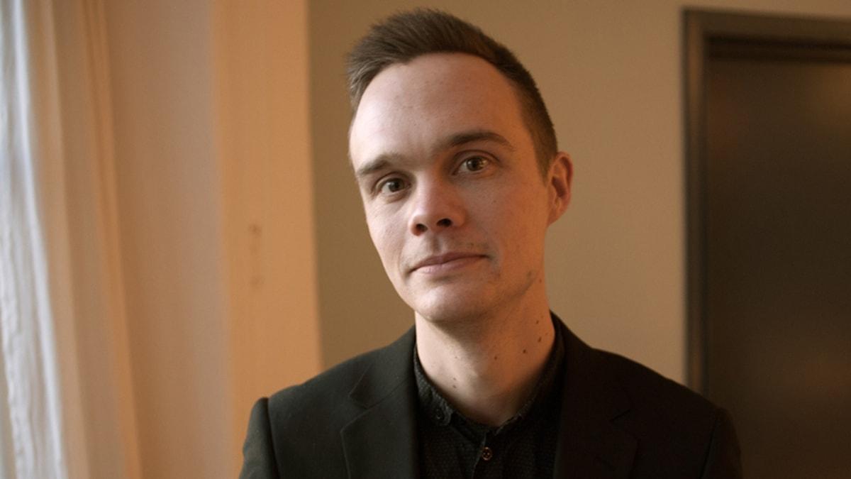 Hans Carlsson, projektledare för Konst i arbete, Sveriges Konstföreningar.