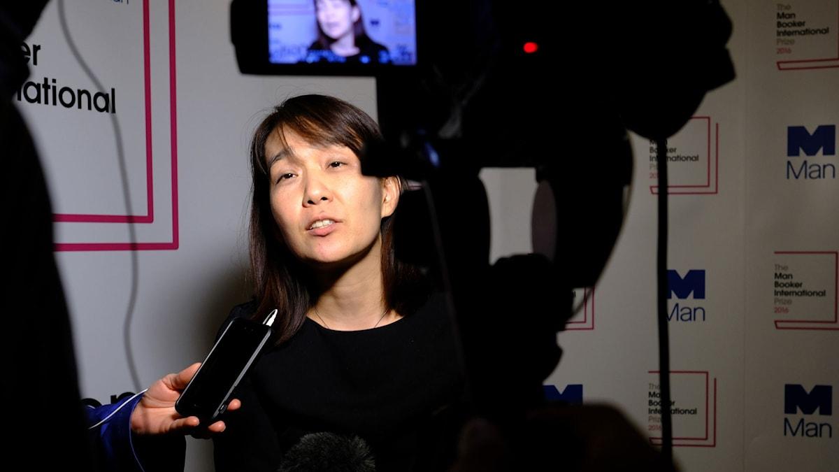 Han Kang, vinnare av årets Man Booker.