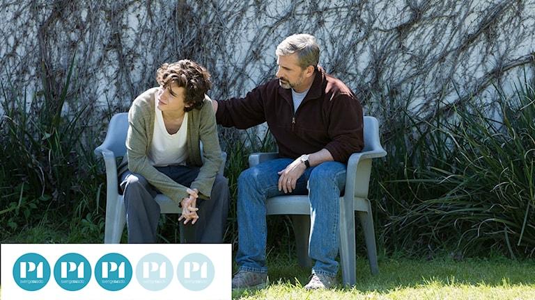Timothée Chalamet och Steve Carell i Beautiful boy.