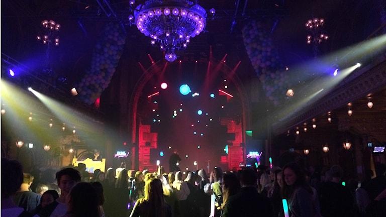 Big Buzz Awards på Berns salonger i Stockholm.