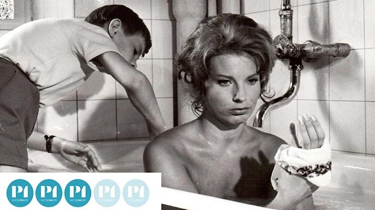 Bergmanpodden betygsätter Bergman. Bild ur filmen Tystnaden från 1963. Foto: AB Svensk filmindustri