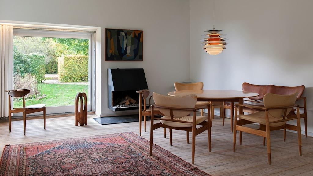 Interior_Finn_Juhls_hus_2_foto_Anna_Danielsson