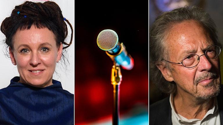 Olga Tokarczuk och Peter Handke