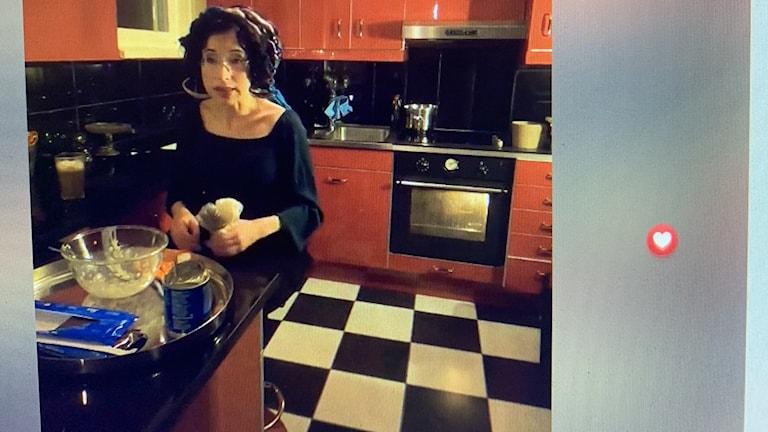 Foto: Skärmdump Sofi Oksanens livesändning