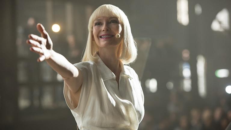 """Netflix-filmen """"Okja"""" med Tilda Swinton tävlar i Cannes."""
