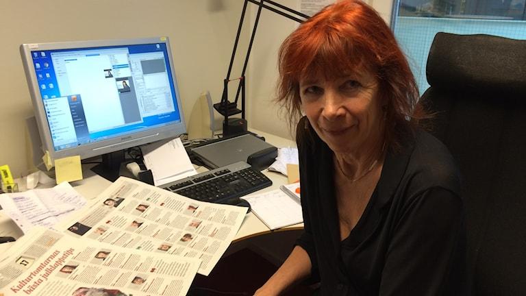 Ingrid Norrman kultur och nöjeschef på Göteborgs-Posten