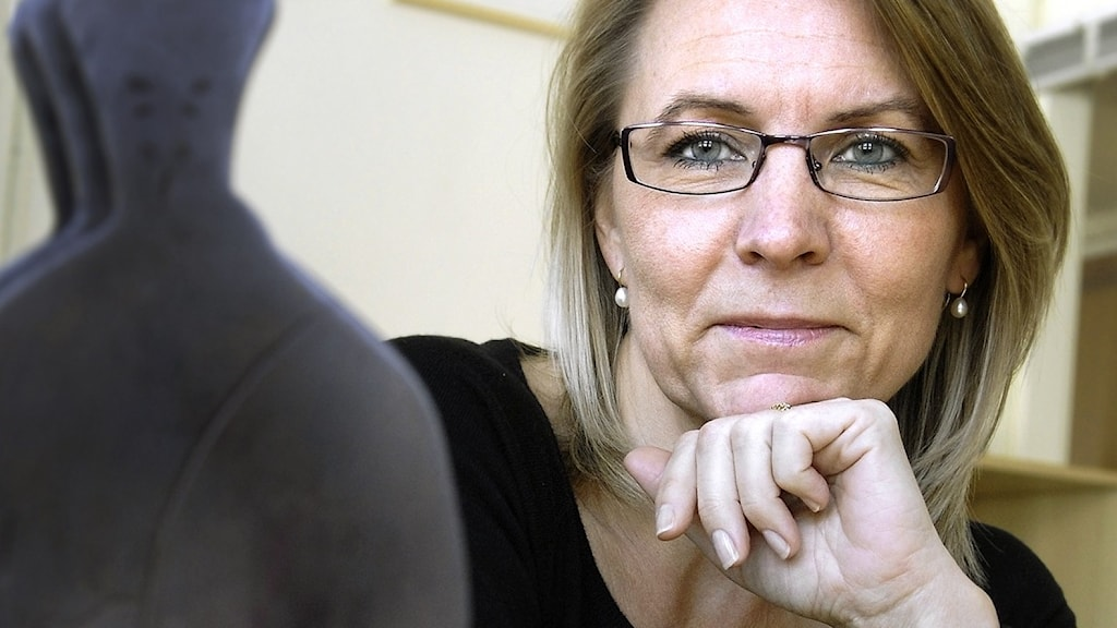 Kristina Ahlinder, vd för förläggarföreningen.