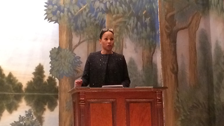 Alice Bah Kuhnke, kulturminister.