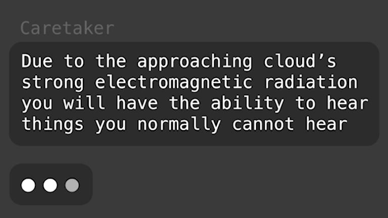 AI-applikationen Unknown Cloud Caretaker
