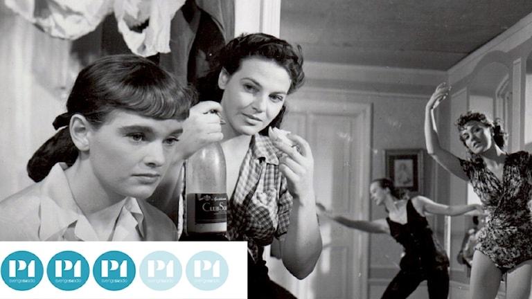 Bergmanpodden betygsätter Bergman. Bild ur filmen Törst från 1949. Foto: Louis Huch/AB Svensk Filmindustri