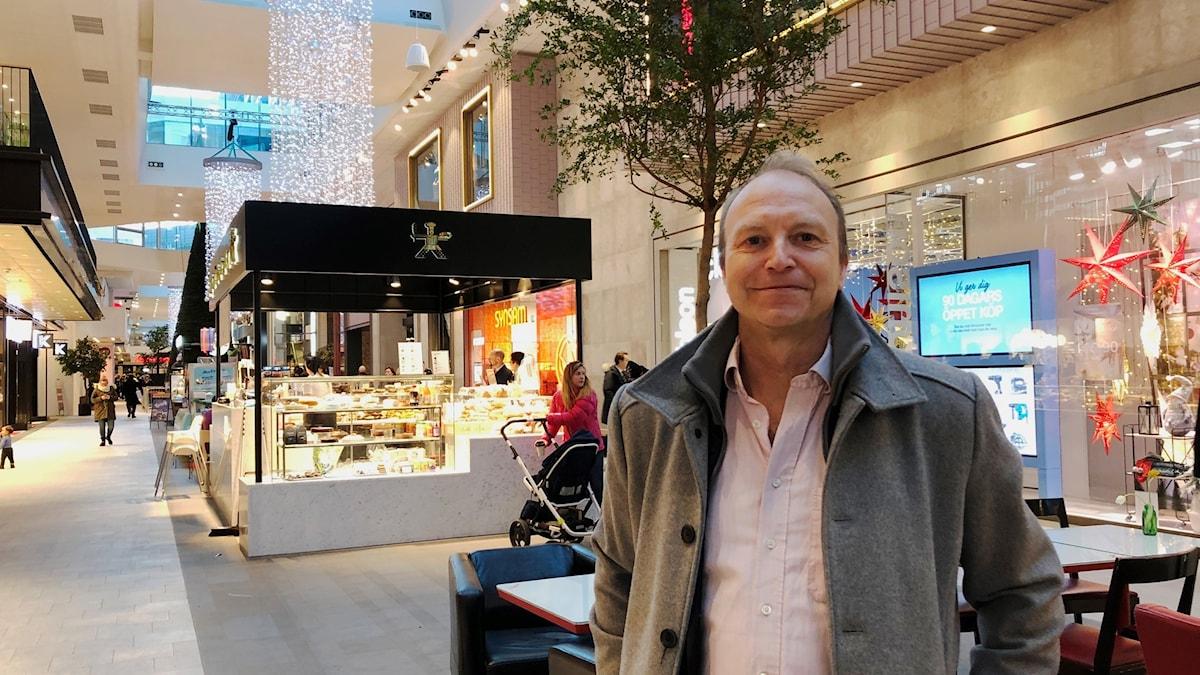 Stefan Carlén, chefsekonom på Handelsanställdas förbund. Foto: Berit Nygren/Sveriges Radio.