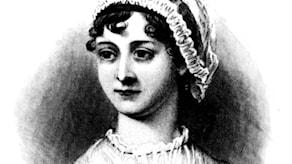 Jane Austen tecknad