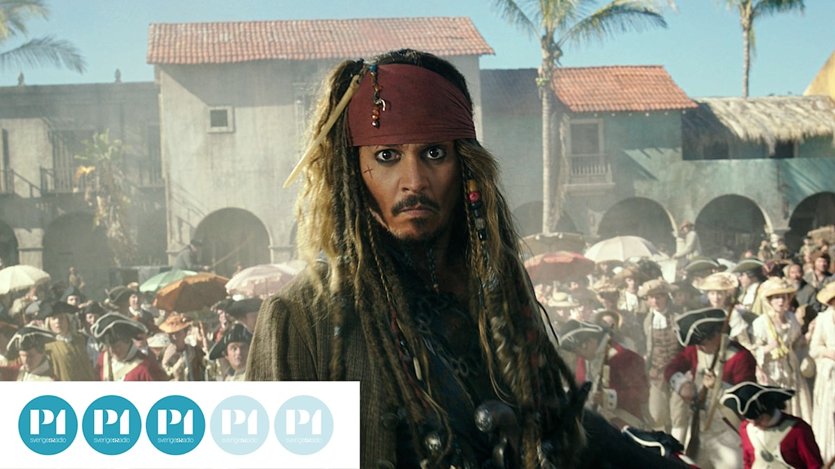 """Johnny Depp återvänder i den senaste """"Pirates""""-filmen."""