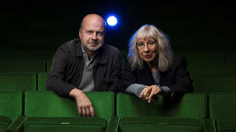 Suzanne Osten är första gäst i Bergmanpodden, programledare är Gunnar Bolin.