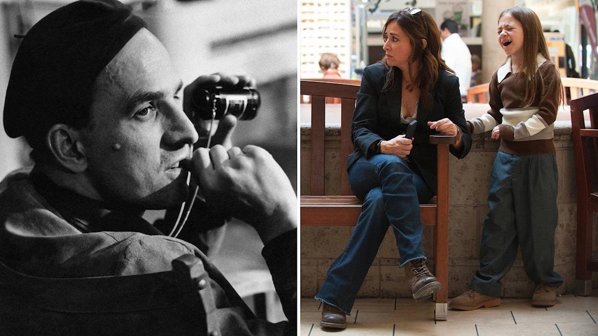 "Ingmar Bergman och Pamela Adlon i ""Better Things"". Foto: Bonnier Hylen / HBO Nordic"
