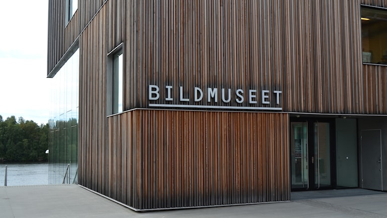 Bildmuseet i Umeå. Foto: Peter Öberg, Sveriges Radio.