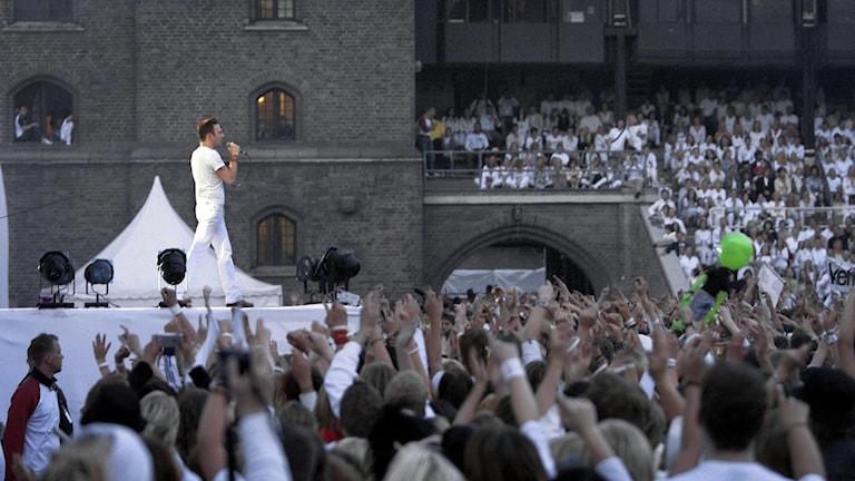 Kent fyllde Stadion i Stockholm med närmare 30000 personer 6:e maj 2003.
