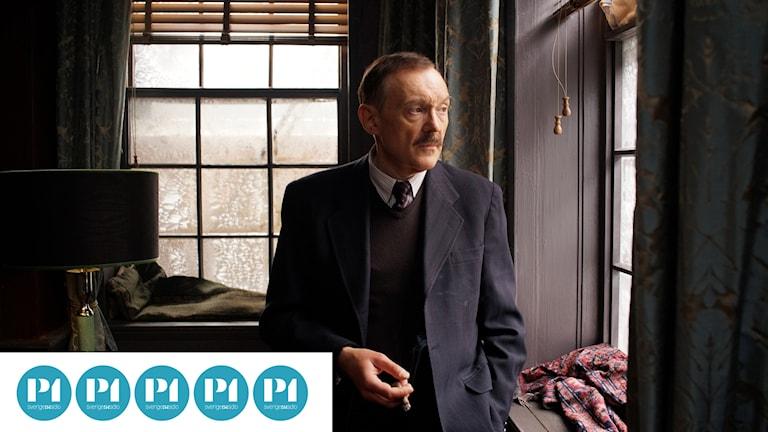Joseph Hader i huvudrollen som författaren Stefan Zweig i Farväl Europa