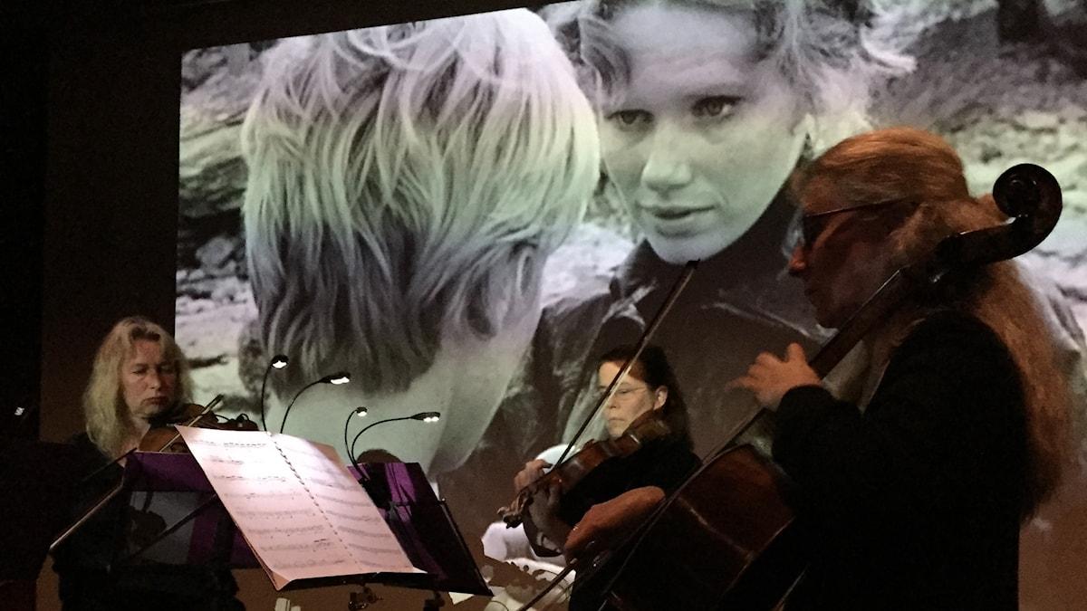 EricsBergskvartetten spelar Persona Perpetua av Carin Bartosch Edström.