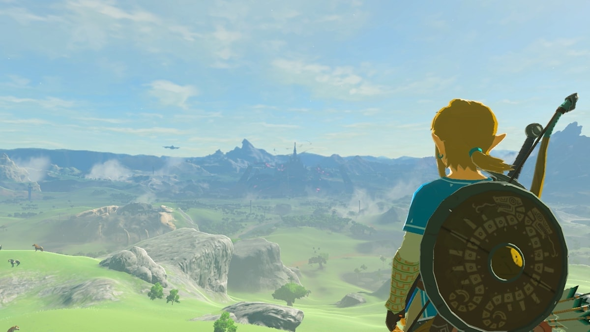 Bild från The Legend of Zelda: Breath of the Wild.