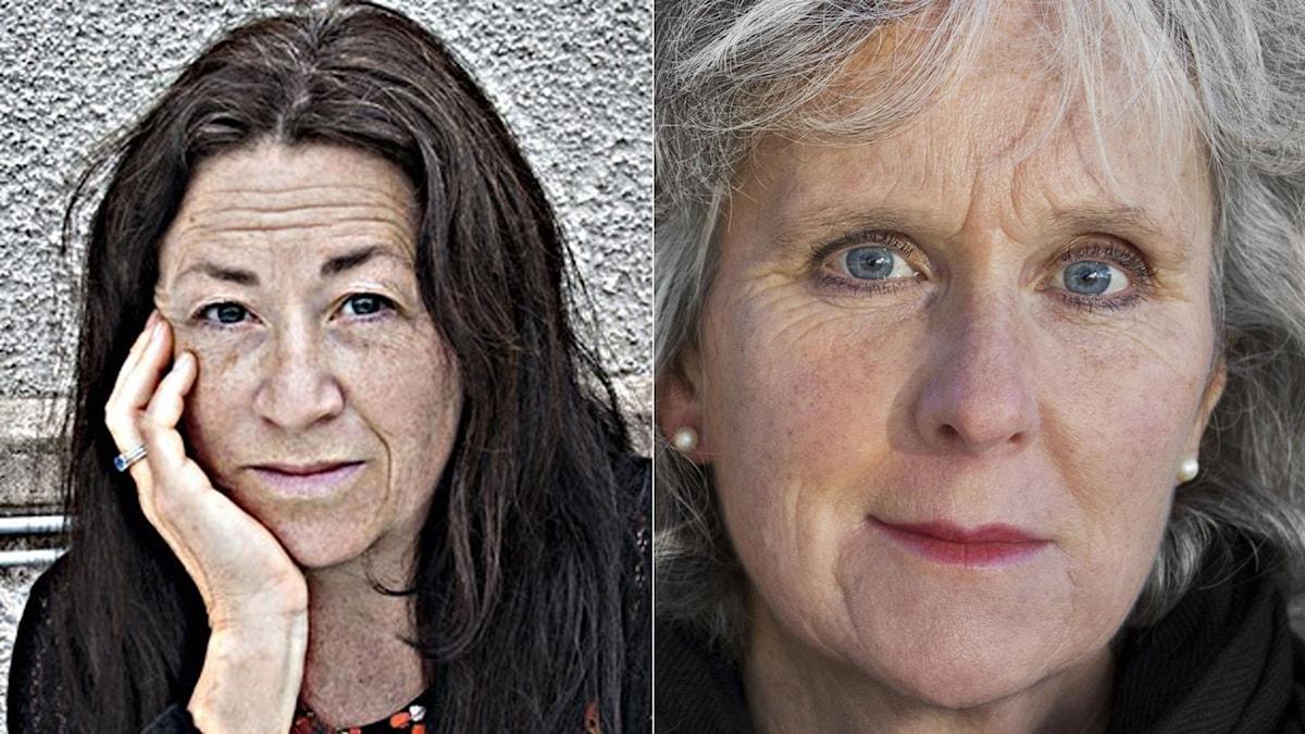 Ann Jäderlund och Birgitta Lillpers.