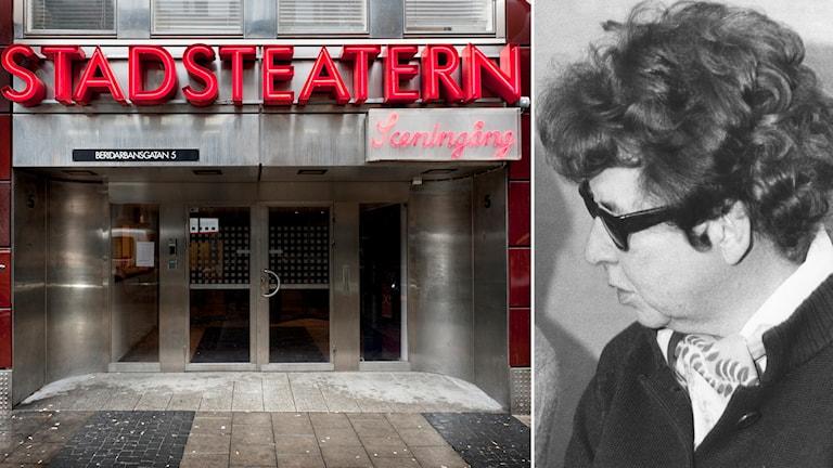 Vivica Bandler var teaterchef på Stockholms Stadsteater 1969-1980.