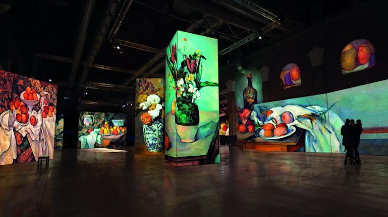 Utställningen Från Monet till Cezanne.